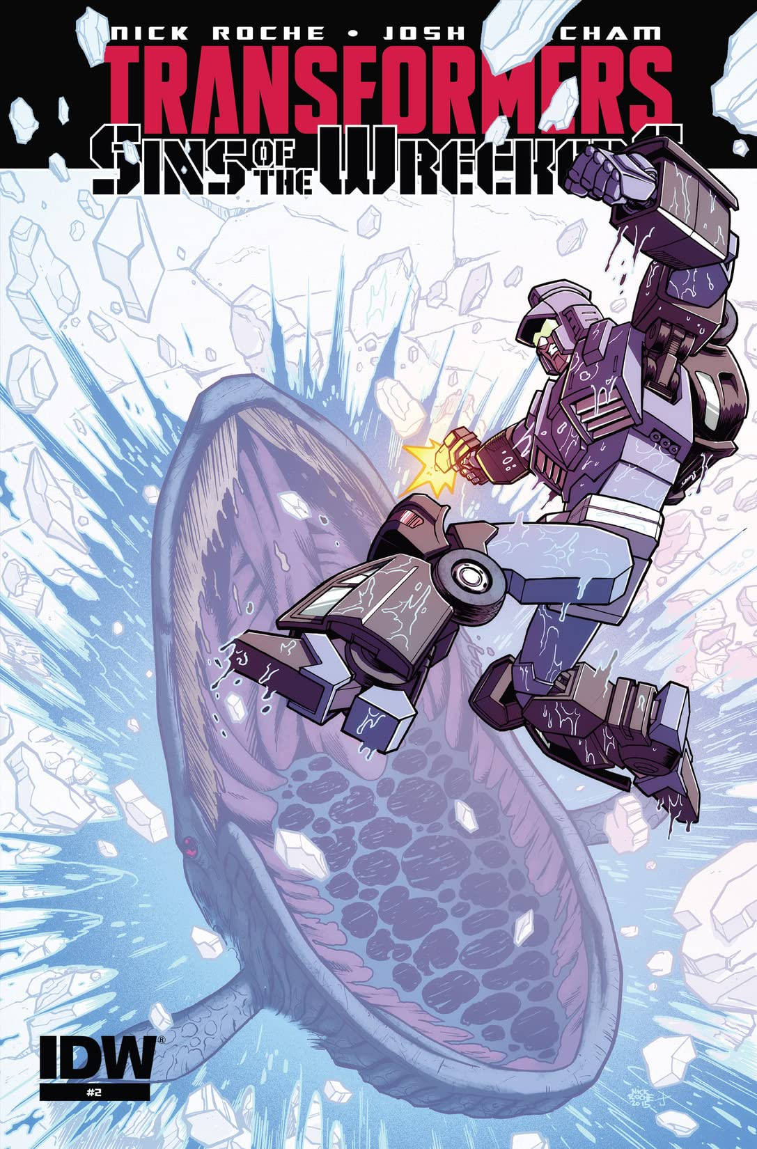 of 5 NEW!!! Transformers Sins of Wreckers #2