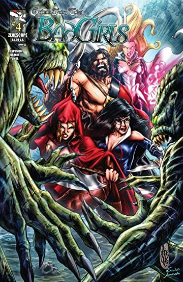 Grimm Fairy Tales: Bad Girls #4 (of 5)