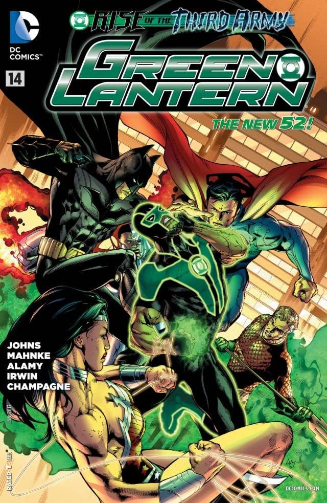 Green Lantern (2011-2015) #14