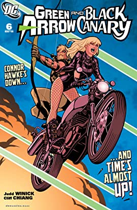 Green Arrow and Black Canary (2007-2010) #6