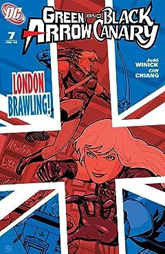 Green Arrow and Black Canary (2007-2010) #7