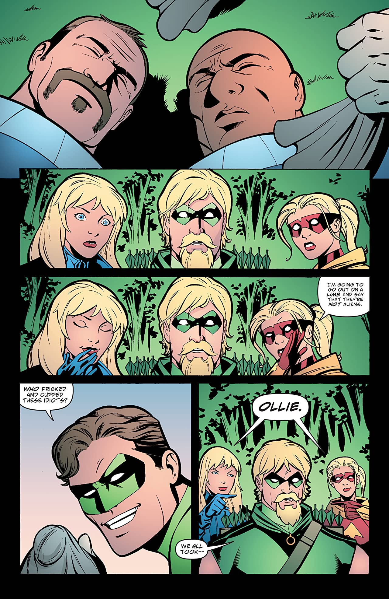 Green Arrow and Black Canary (2007-2010) #7