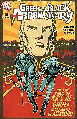 Green Arrow and Black Canary (2007-2010) #8