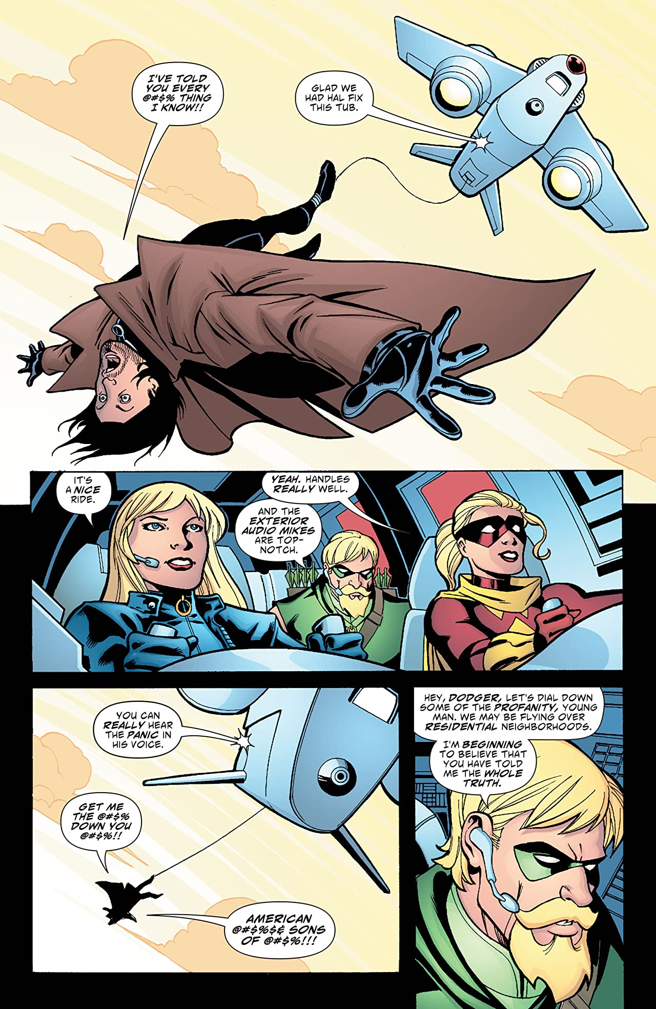 Green Arrow and Black Canary (2007-2010) #8