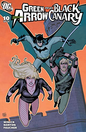 Green Arrow and Black Canary (2007-2010) #10