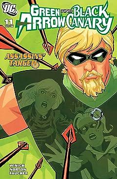Green Arrow and Black Canary (2007-2010) #11