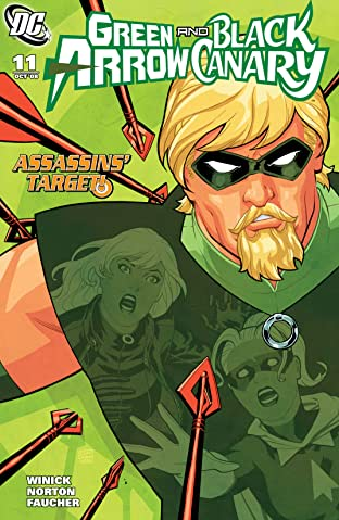Green Arrow and Black Canary (2007-2010) No.11