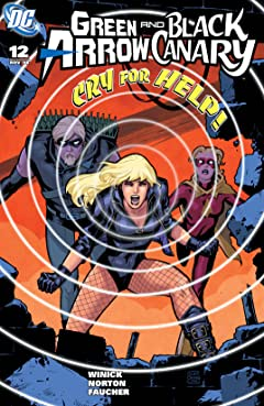 Green Arrow and Black Canary (2007-2010) #12