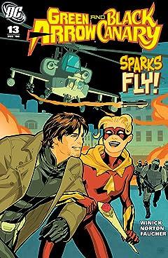 Green Arrow and Black Canary (2007-2010) #13