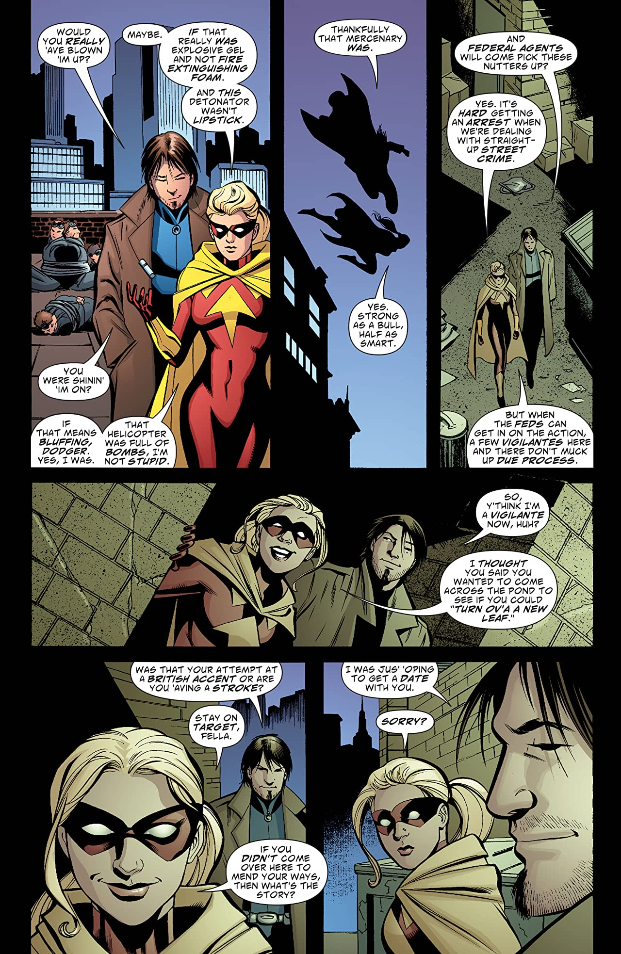 Green Arrow and Black Canary (2007-2010) #13