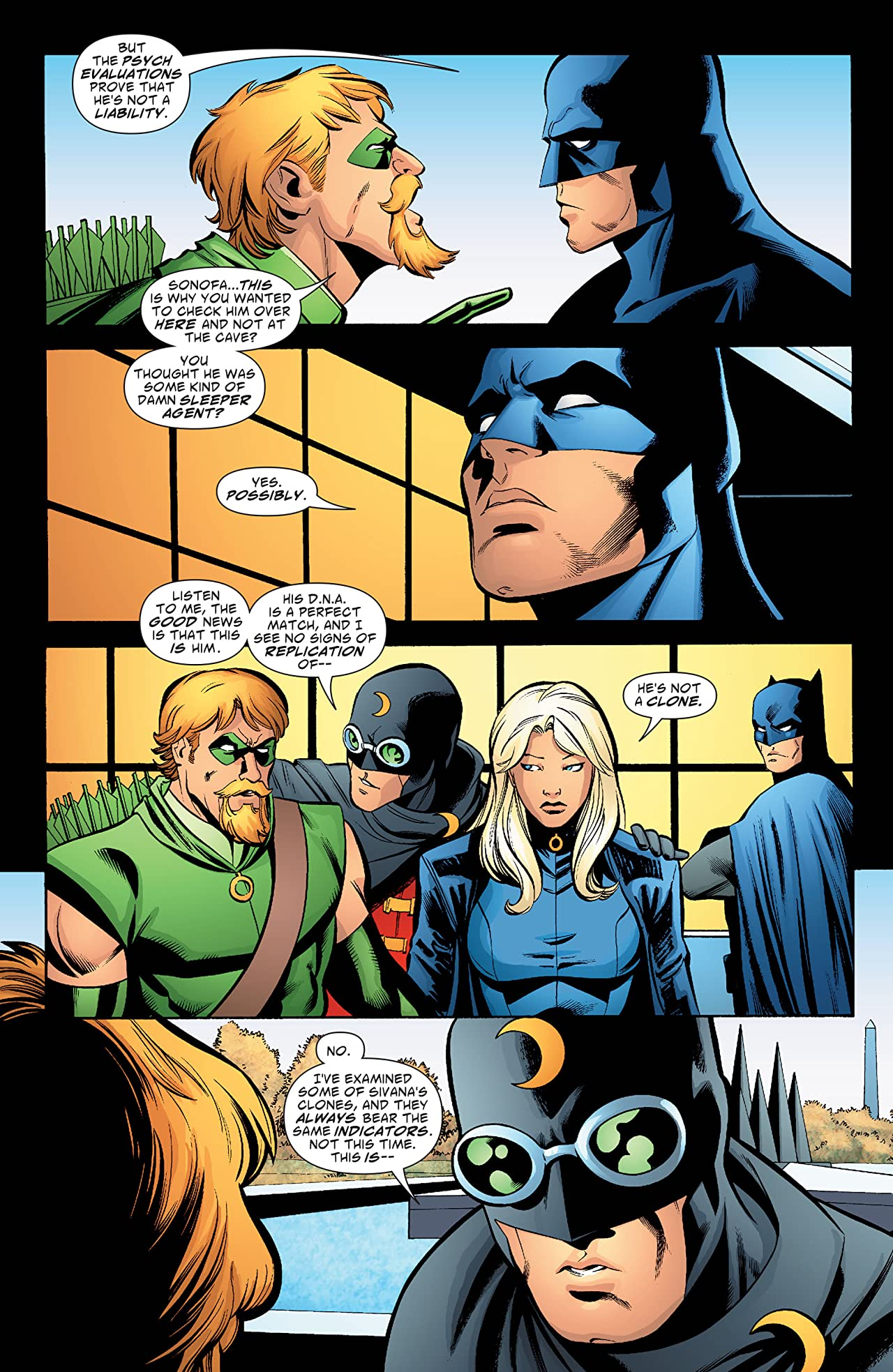 Green Arrow and Black Canary (2007-2010) #14