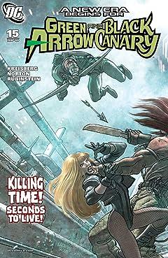 Green Arrow and Black Canary (2007-2010) #15