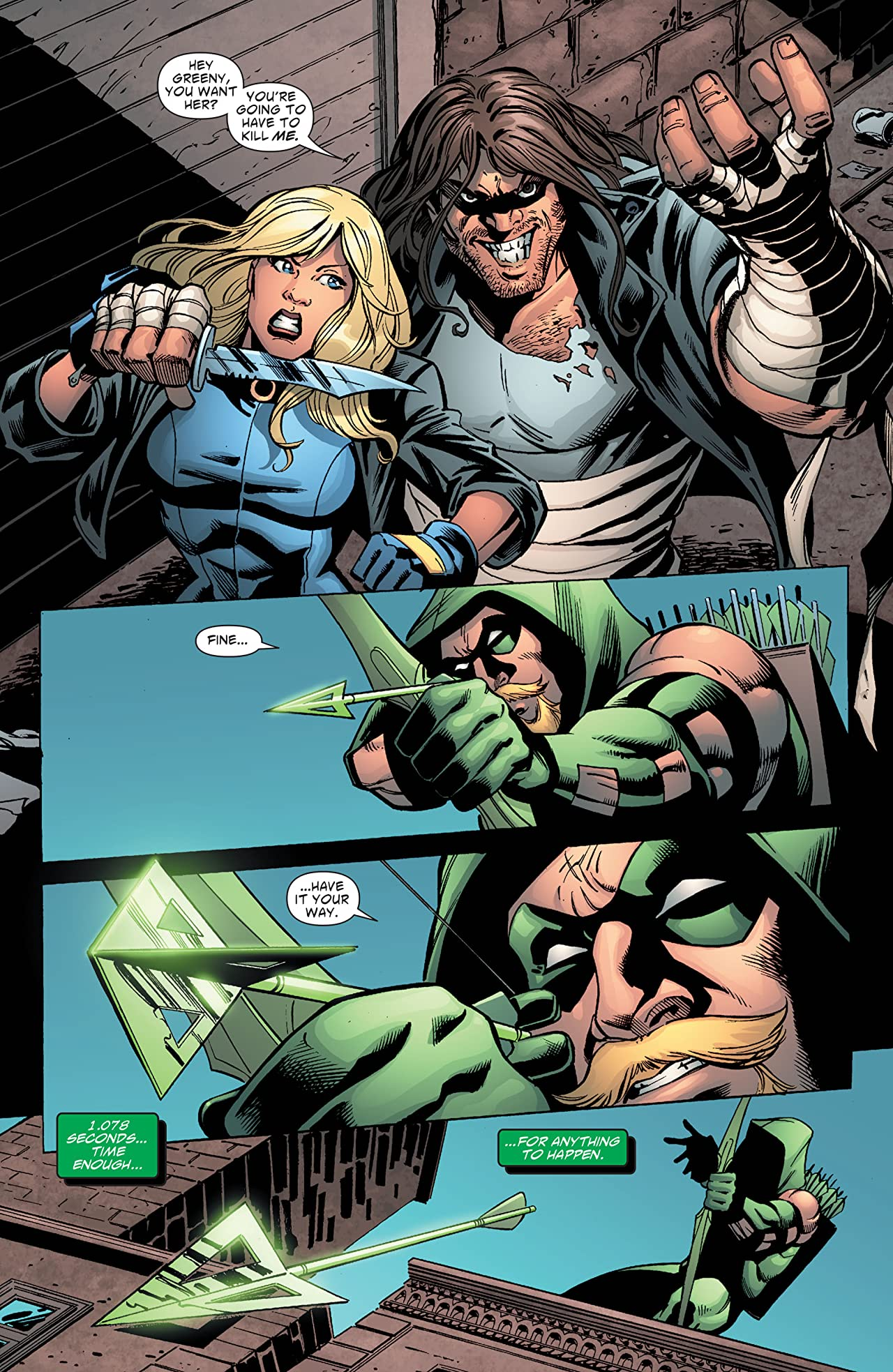 Green Arrow and Black Canary (2007-2010) #15