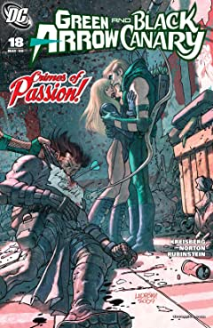 Green Arrow and Black Canary (2007-2010) #18
