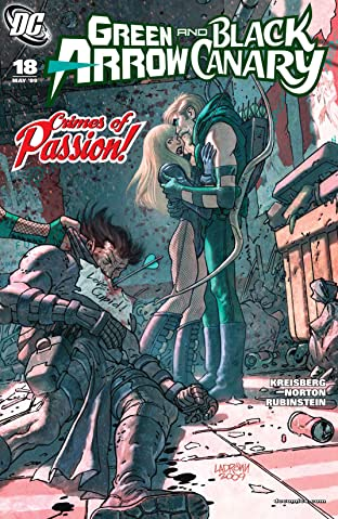 Green Arrow and Black Canary (2007-2010) #18