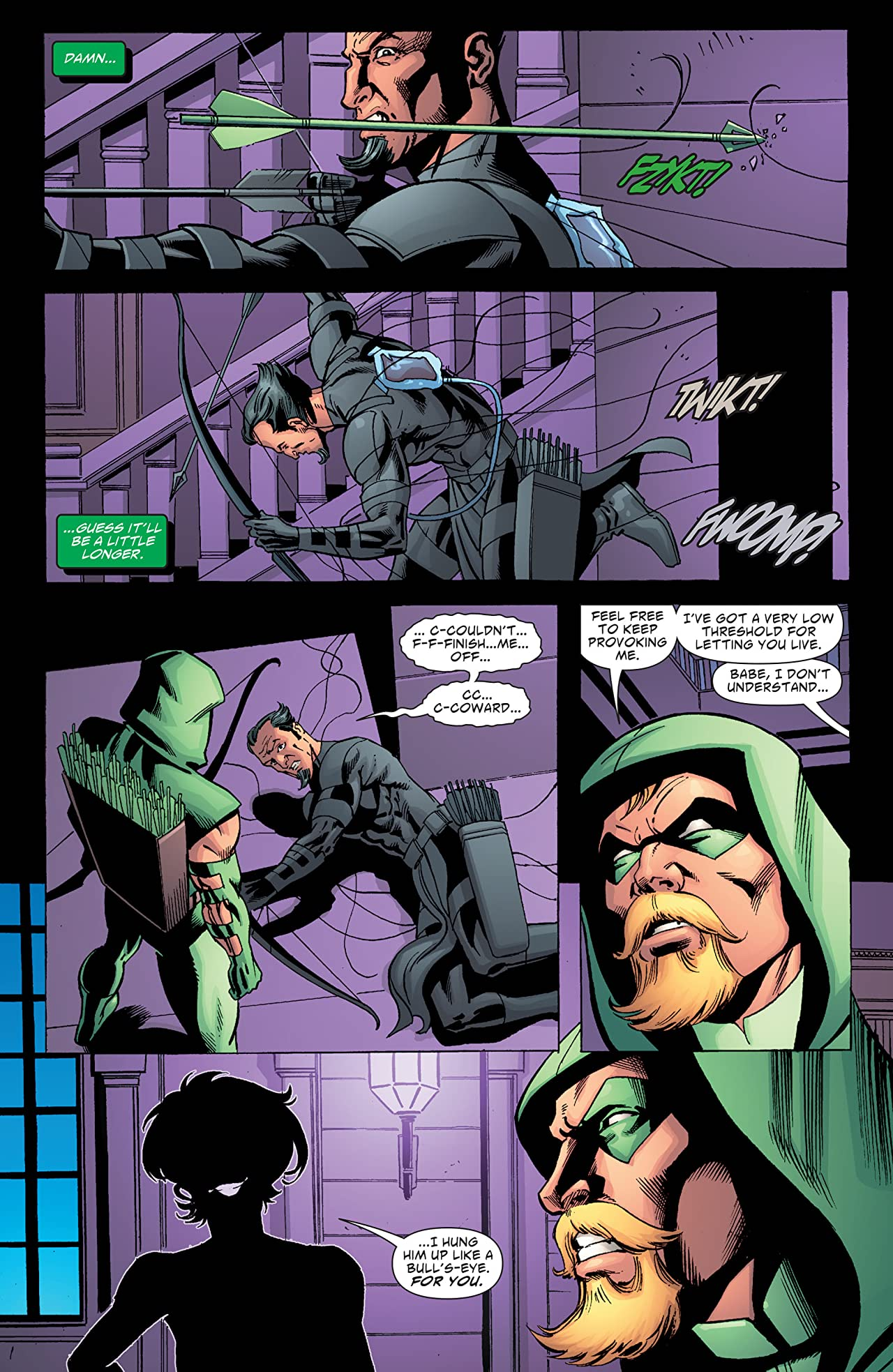 Green Arrow and Black Canary (2007-2010) #19