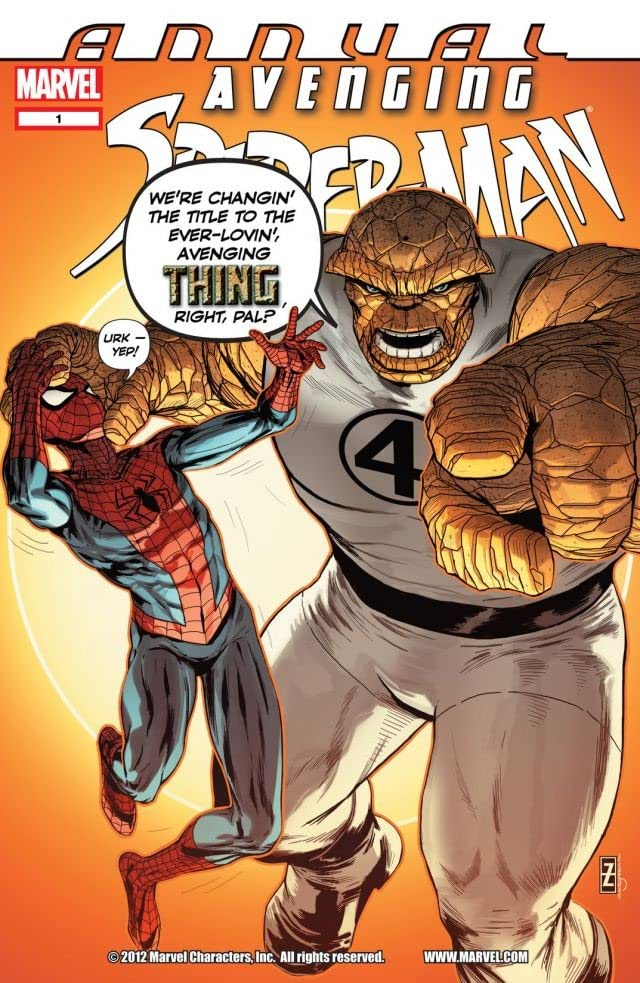 Avenging Spider-Man (2011-2013) Annual #1