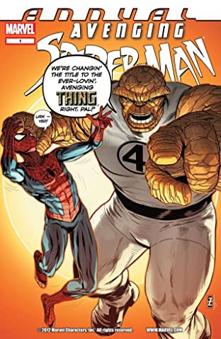 Avenging Spider-Man (2011-2013) Annual No.1