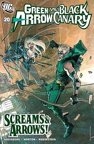 Green Arrow and Black Canary (2007-2010) #20