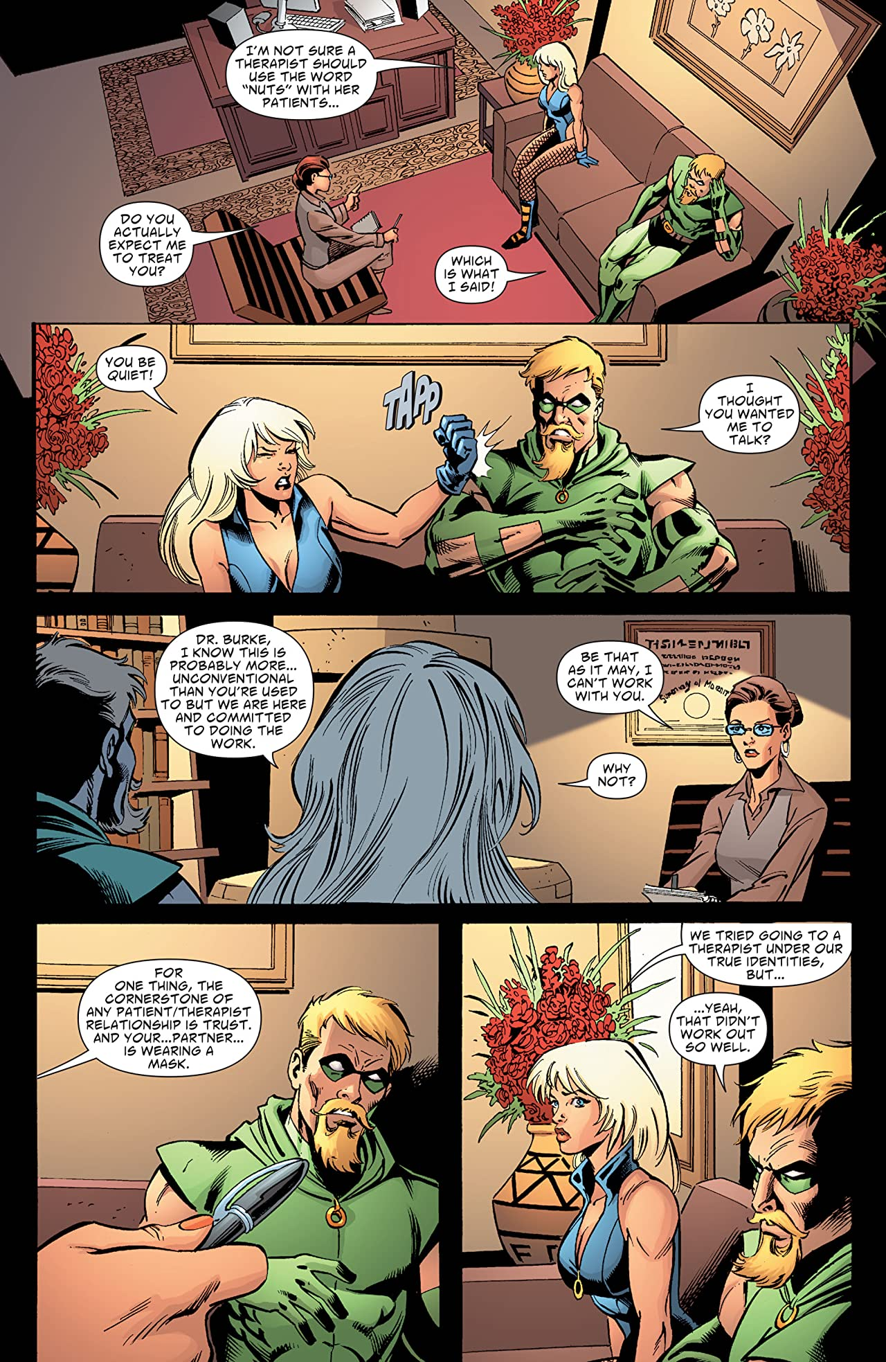 Green Arrow and Black Canary (2007-2010) #20