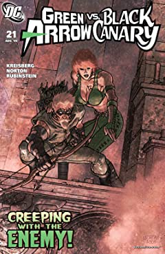 Green Arrow and Black Canary (2007-2010) #21