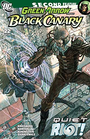 Green Arrow and Black Canary (2007-2010) #22