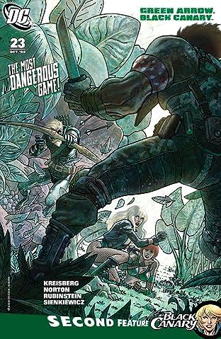 Green Arrow and Black Canary (2007-2010) #23