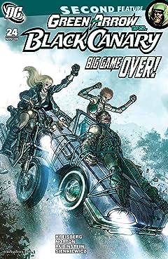 Green Arrow and Black Canary (2007-2010) #24