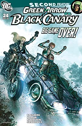 Green Arrow and Black Canary (2007-2010) #24