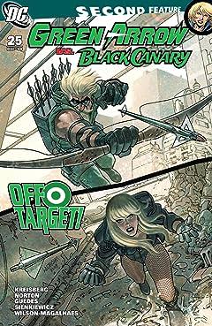 Green Arrow and Black Canary (2007-2010) #25