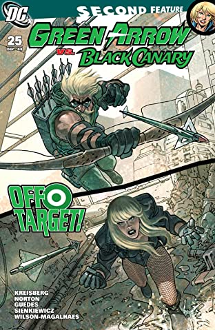Green Arrow and Black Canary (2007-2010) #25