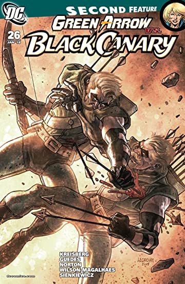 Green Arrow and Black Canary (2007-2010) #26