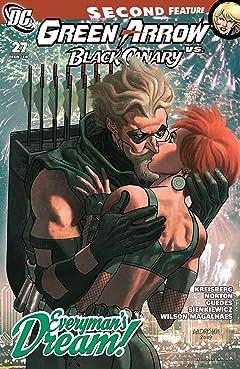 Green Arrow and Black Canary (2007-2010) #27