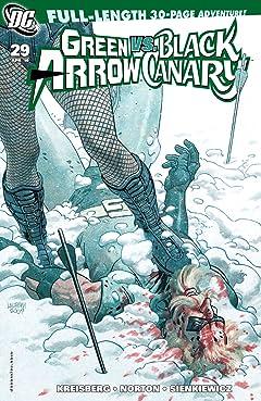 Green Arrow and Black Canary (2007-2010) #29