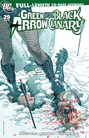 Green Arrow and Black Canary (2007-2010) #29