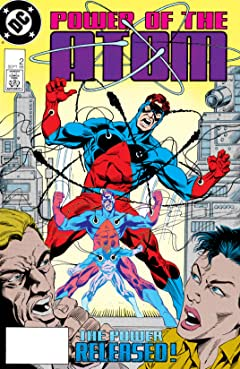 Power of the Atom (1988-1989) #2