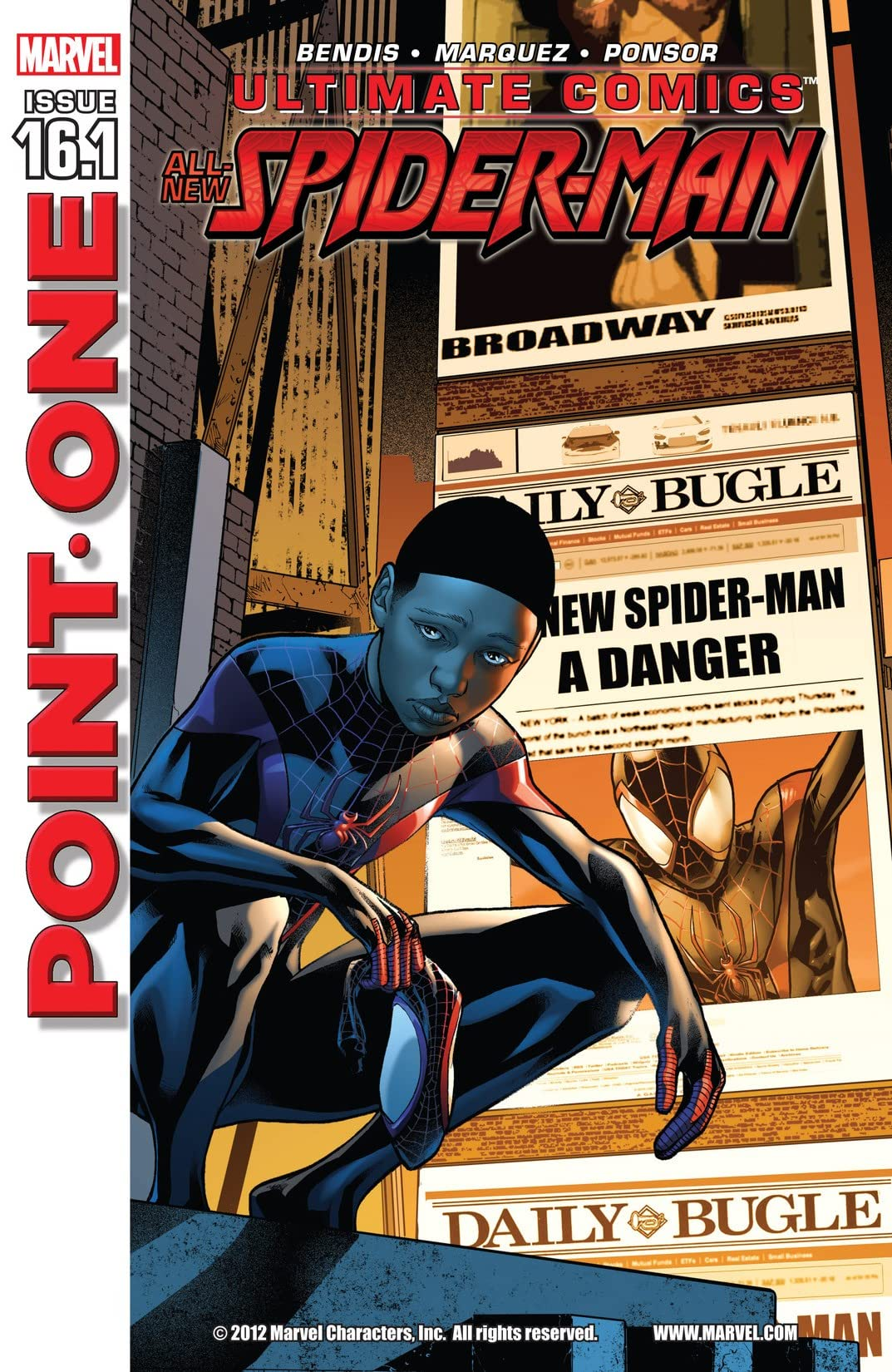 Ultimate Comics Spider-Man (2011-2013) #16.1