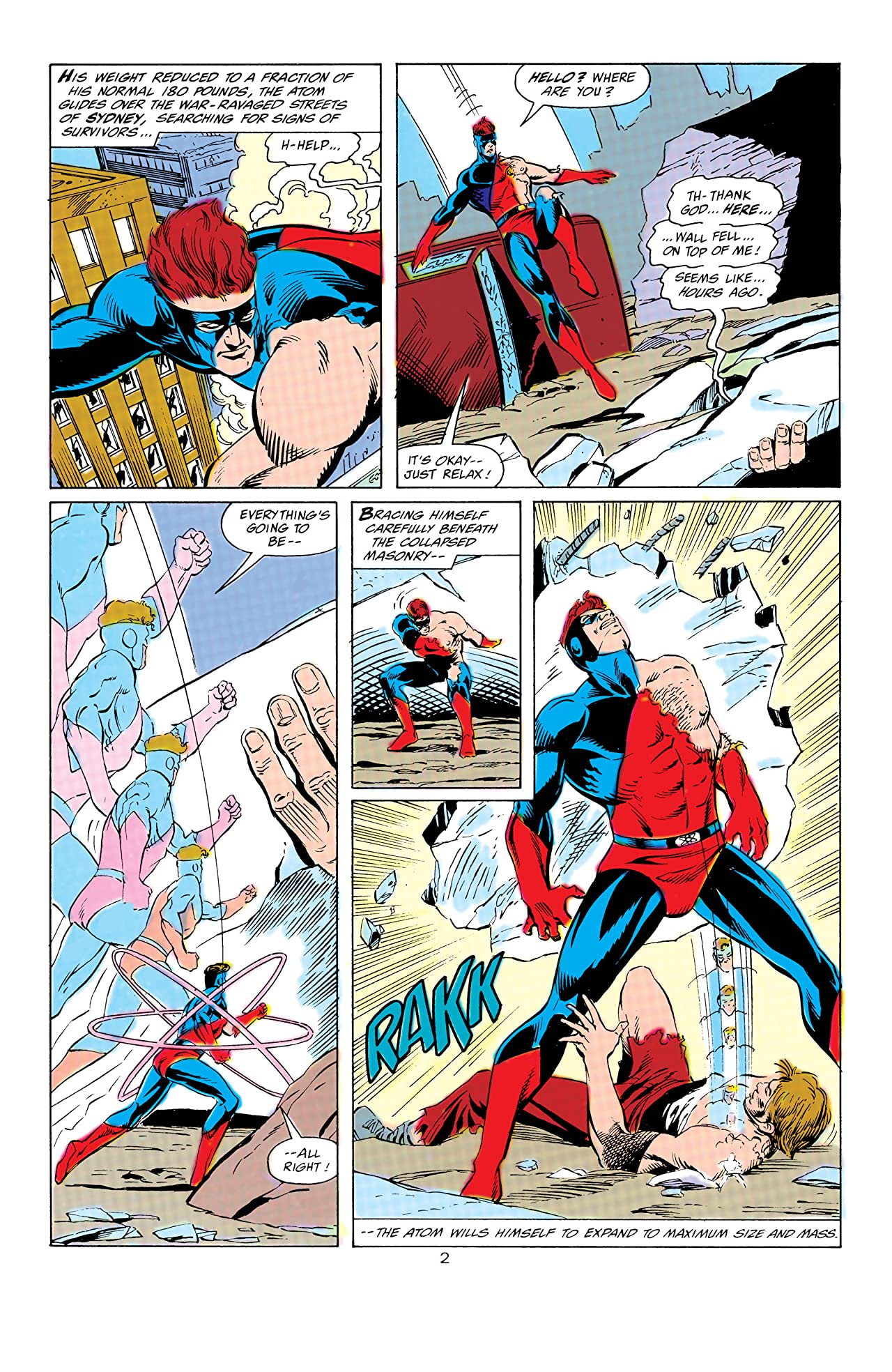 Power of the Atom (1988-1989) #8