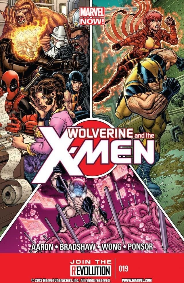 Wolverine and the X-Men #19