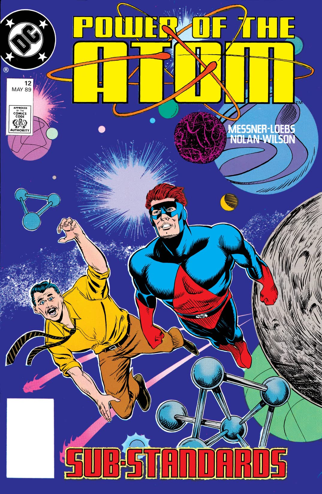 Power of the Atom (1988-1989) #12