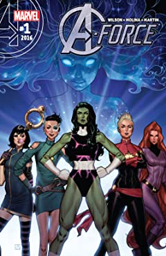 A-Force (2016) No.1