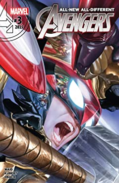 All-New, All-Different Avengers (2015-2016) No.3