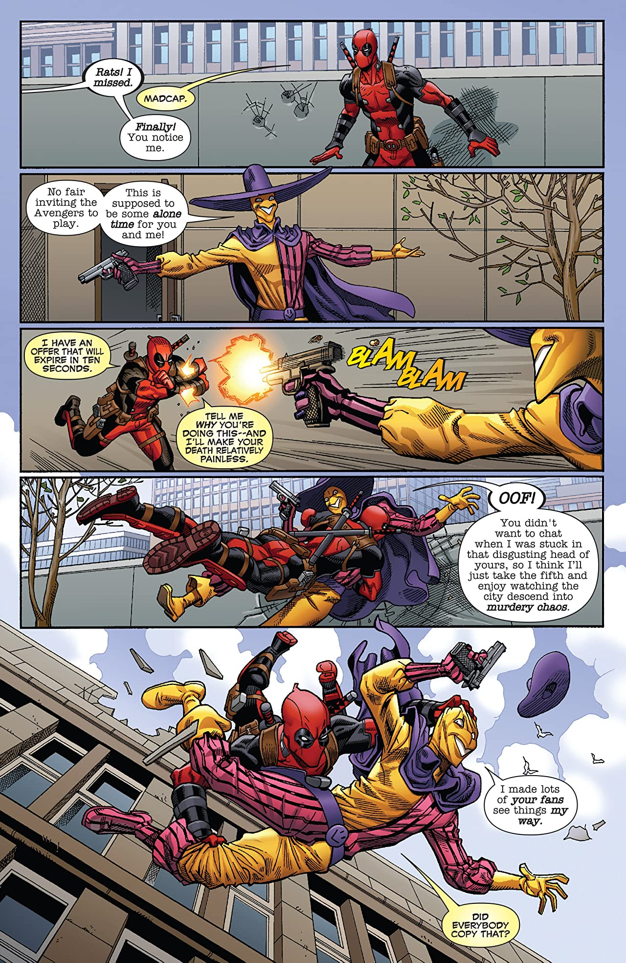 Deadpool (2015-2017) #5