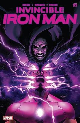 Invincible Iron Man (2015-2016) #5