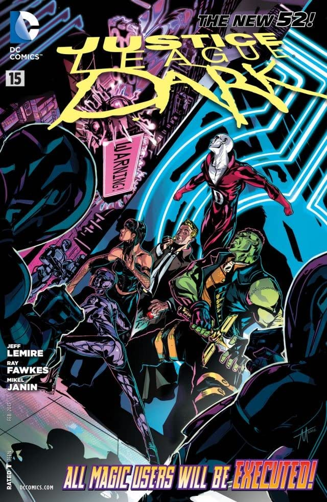 Justice League Dark (2011-2015) #15