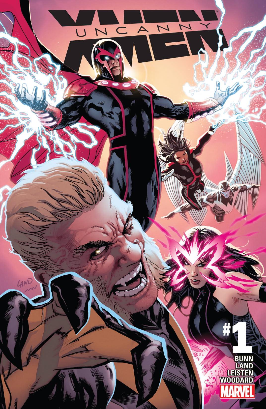 Uncanny X-Men (2016-2017) #1
