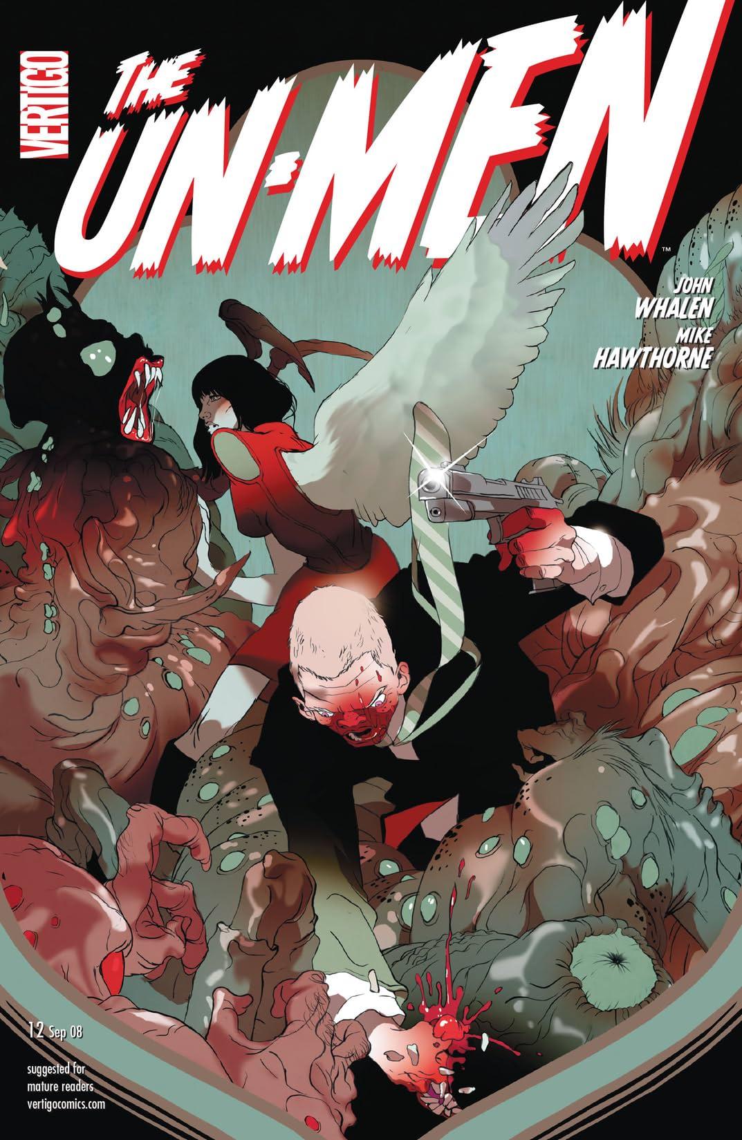 The Un-Men (2007-2008) #12