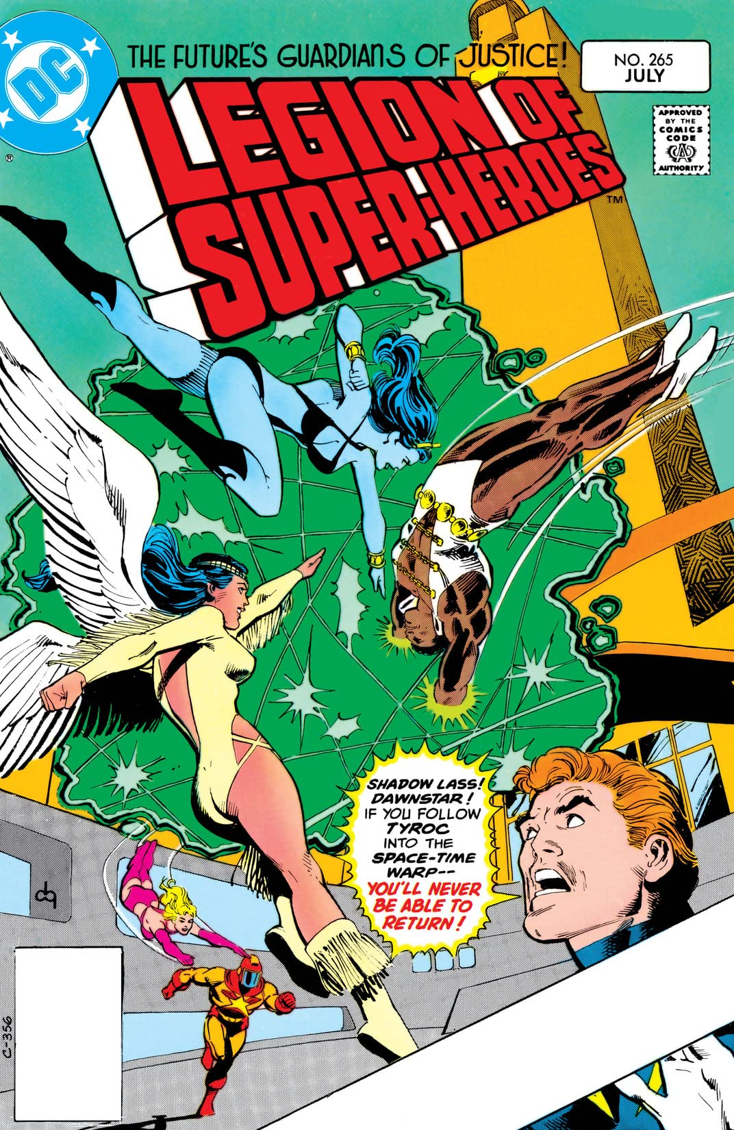 Legion of Super-Heroes (1980-1985) #265