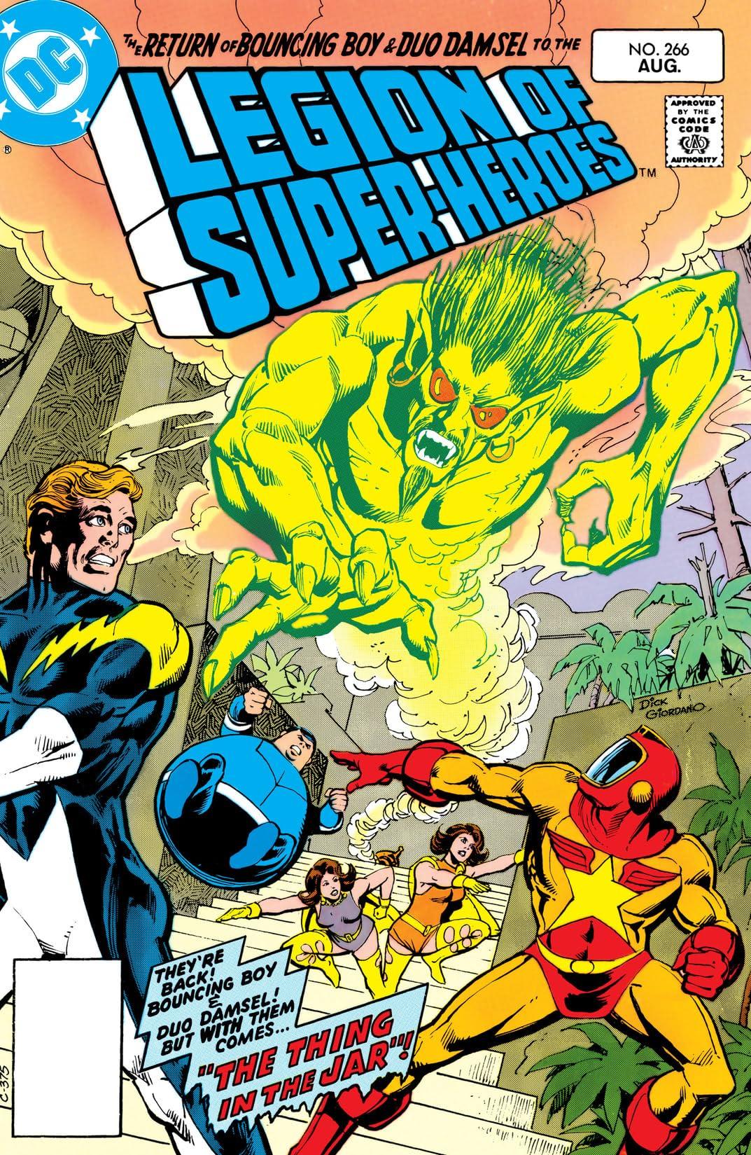 Legion of Super-Heroes (1980-1985) #266