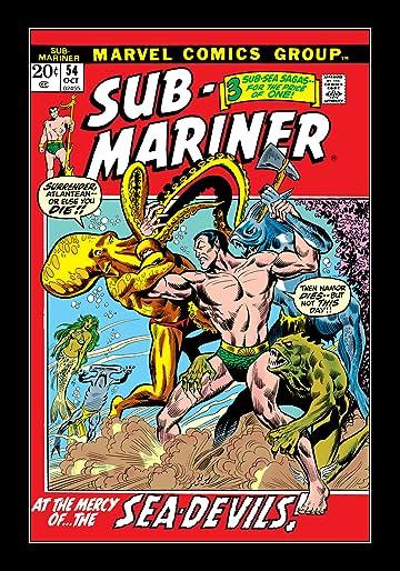 Sub-Mariner (1968-1974) #54